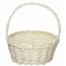 Round Willow Wicker/Rattan Basket