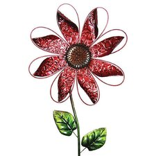 Kinetic Metal Flower Spinner