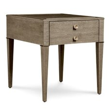 Albright Drawer End Table by Everly Quinn