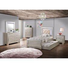 Rocky Rocky Panel 8 Piece Bedroom Set