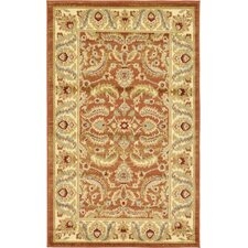 Fairmount Brick Red Area Rug