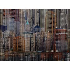 Architecture Unified Framed Graphic Art