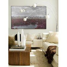 Landscape Central Harvest Framed Graphic Art