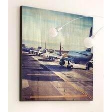 Transportation Taking Flight Framed Graphic Art