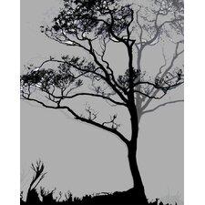 Nature Midnight Ginkgo Framed Graphic Art