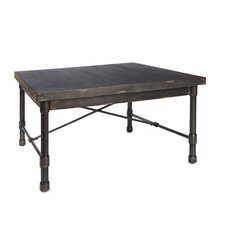 Adelle Industrial Square Coffee Table by 17 Stories