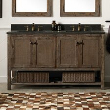 Adkins 60 Double Bathroom Vanity Set by Loon Peak