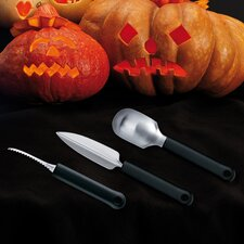 3 Piece Pumpkin Carving Set