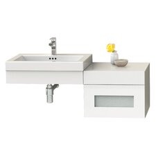 Adina 61 Single Bathroom Vanity Set with Mirror by Ronbow