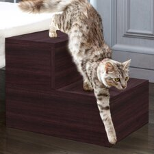 Eco Friendly 2 Step Pet Stair