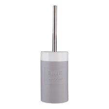 Vida Stoneware Free-Standing Toilet Brush and Holder