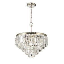 Triomphe 6-Light Crystal Chandelier