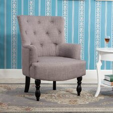 Terrell Curved Back Accent Side Chair by Alcott Hill
