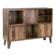 Fields Sheesham Solid 3 Door Accent Cabinet by Union Rustic
