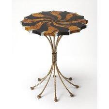 Geiser Pinwheel Pen Shell End Table by Brayden Studio