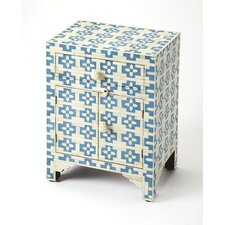 Eleta 2 Drawer Accent Cabinet by Bungalow Rose
