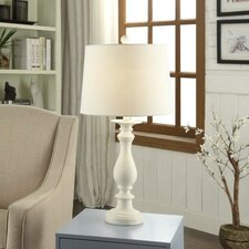 "Coralie Polyresin 29"" Table Lamp"
