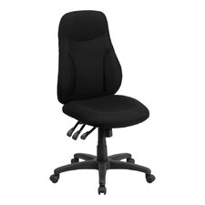 Multi-Functional Ergonomic Black High-Back Desk Chair