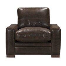Bassham Top Grain Leather Armchair by Darby Home Co