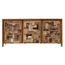 Hartly Mozaik Chest 3 Doors by Rosecliff Heights