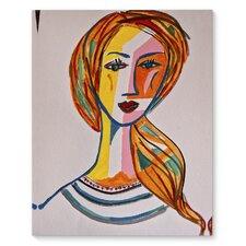 'The Artist' Graphic Art Print on Canvas