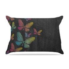 Snap Studio 'Butterflies' Pastel Chalk Pillow Case