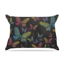 Snap Studio 'Butterflies Ii' Pastel Chalk Pillow Case