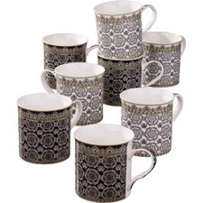 Downton Mug (Set of 8)