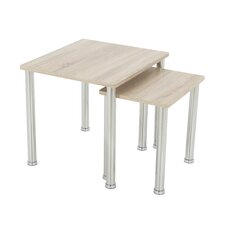 Adelinna 2 Piece Nesting Tables by Latitude Run
