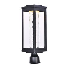 Cavazos Outdoor 1-Light LED Aluminum Frame Lantern Head