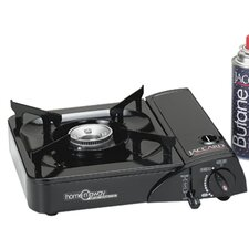 Home N Away Portable 1-Burner Butane Stove