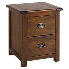 Bebb 2 Drawer Bedside Table
