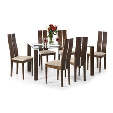 Scribner Dining Set with 6 Chairs