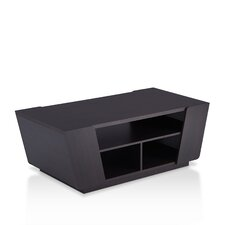 Pratt Contemporary Coffee Table with Magazine Rack