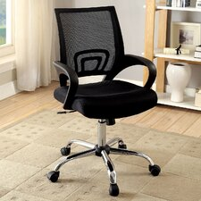 Jengo Contemporary Office Mid-Back Mesh Desk Chair