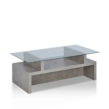 Maisen Contemporary Coffee Table with Magazine Rack