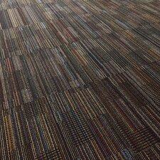 """Epsom 24"""" x 24"""" Carpet Tile in Black Velvet"""