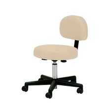 Mid-Back Height Adjustable Rolling Drafting Chair