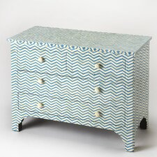 Ceballos 3 Drawers Accent Chest by Latitude Run