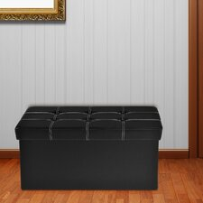Nicholson Collapsible Tufted Storage Ottoman by Winston Porter