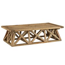 Barker Camp Wood Coffee Table by Union Rustic