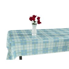 Essential Vinyl Plaid Design Indoor/Outdoor Tablecloth