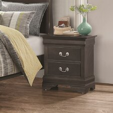 Allenville 2 Drawer Nightstand by Alcott Hill