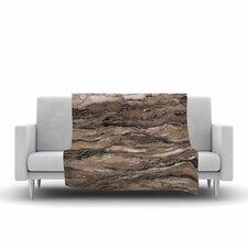 Ebi Emporium Marble Idea, Rustic Elements Watercolor Fleece Throw