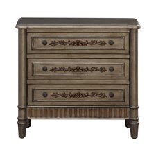 Ellaine 3 Drawer Accent Chest by Bungalow Rose