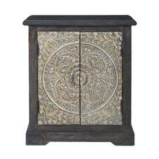 Elisamarie 2 Door Cabinet by Bungalow Rose