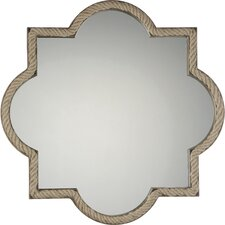 Transitional Metal Painted Accent Mirror