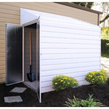 Yardsaver 4 ft. W x 7 ft. D Metal Lean-To Storage Shed