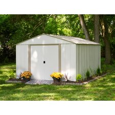 Oakbrook 10 ft. W x 14 ft. D Metal Storage Shed
