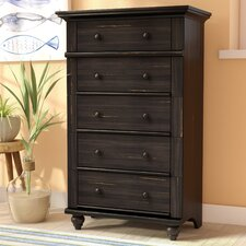 Pinellas 5 Drawer Chest